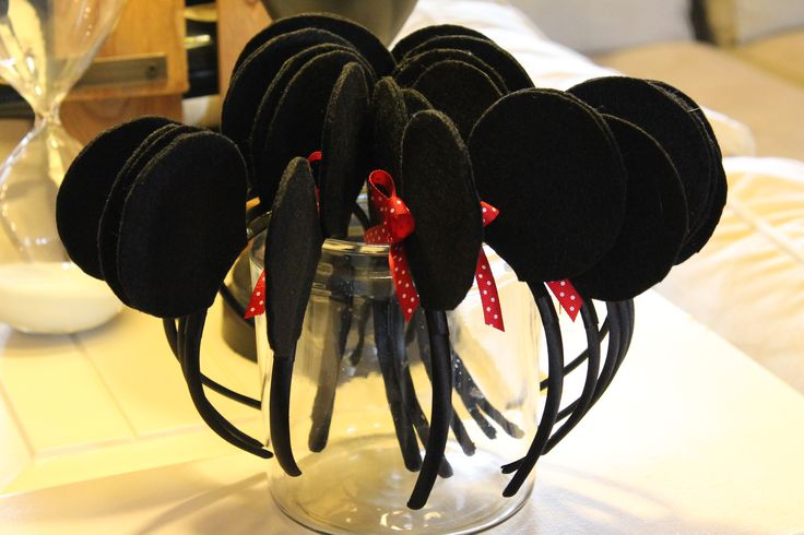 Mickey Mouse Clubhouse Birthday Party   Ears for Guests