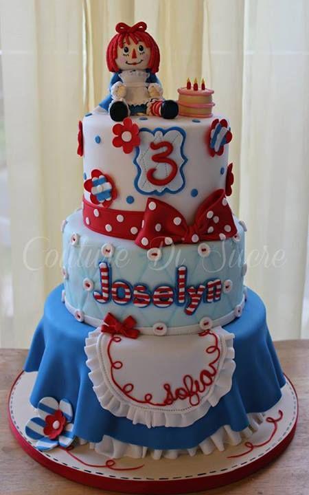 Raggedy Ann Cake (Joselyn)