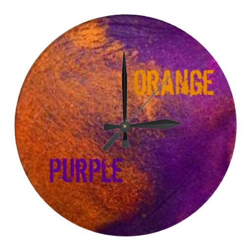 39 best images about color trend techno color on for Orange and purple walls