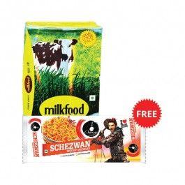 Best Price Rs.389/-Buy #Milkfood #Pure #Desi #Ghee with Free #Chings #Secret #Schezwan #Instant #Noodle 240 Gm Online in Delhi, Noida, Ghaziabad, NCR at Bazaarcart.com