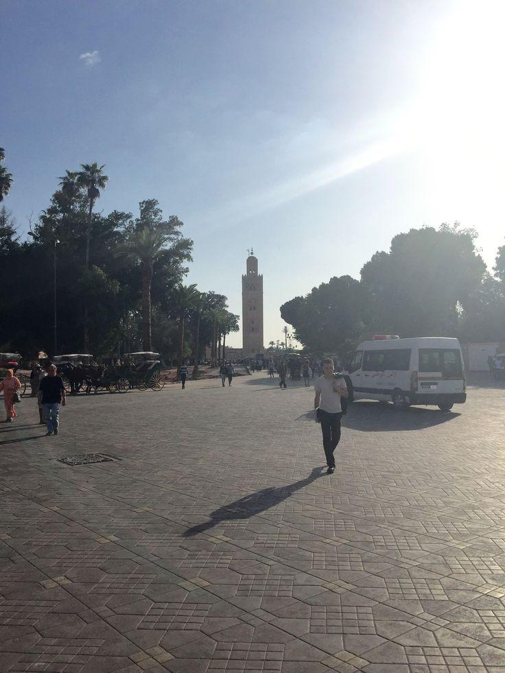 Morocco souks & medinas. Main square.