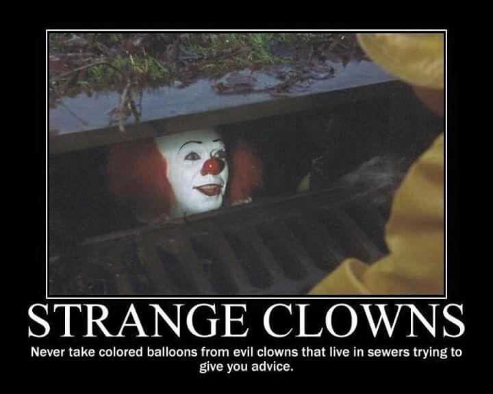 2fa7929e3899e3f045a7a1182e85fe18 clown meme pennywise the clown 56 best stephen king's it images on pinterest horror films