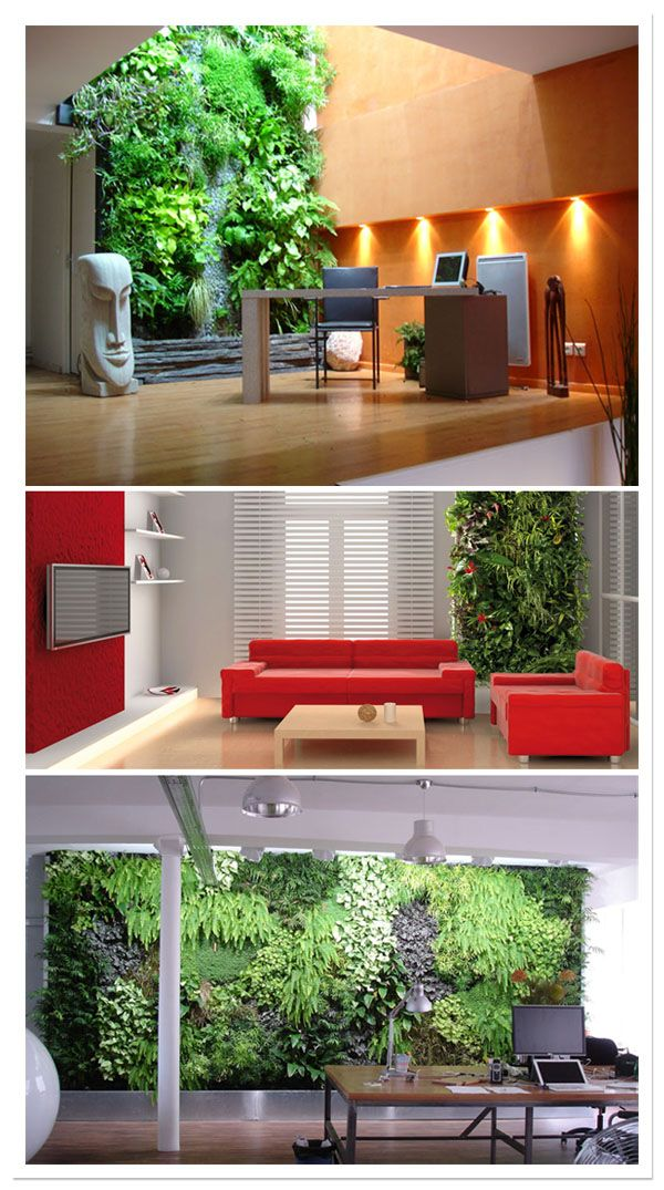17 mejores ideas sobre jardin vertical artificial en for Jardin artificial interior