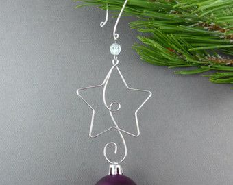 The 25 best Ornament hooks ideas on Pinterest  Wire ornaments