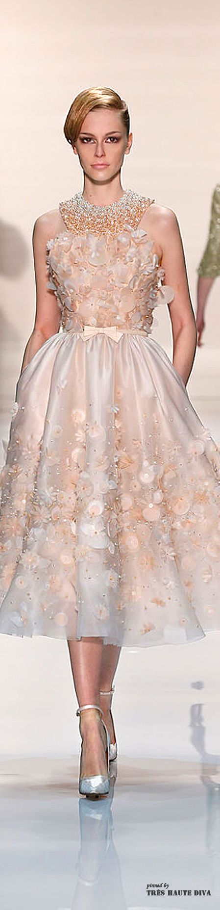 Georges Hobeika Spring 2014 Couture | The House of Beccaria~