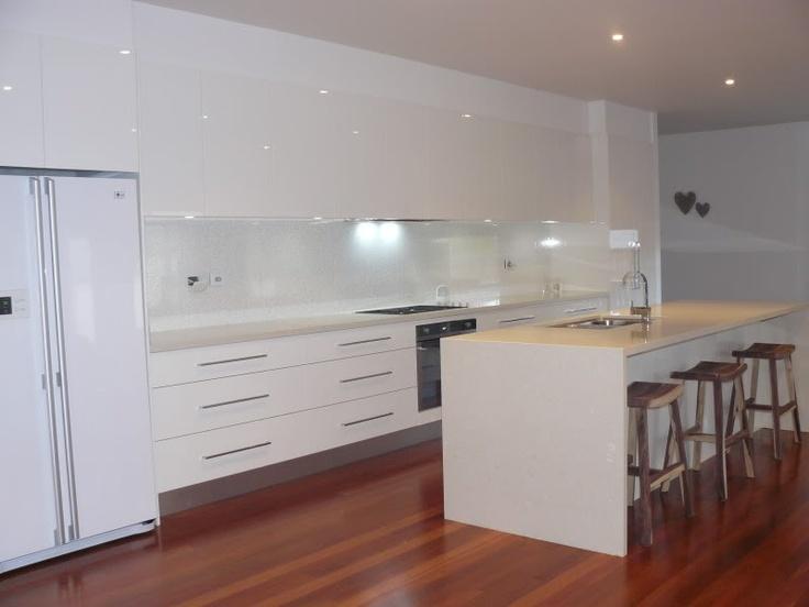 White-ish on white kitchen & beaut floorboards