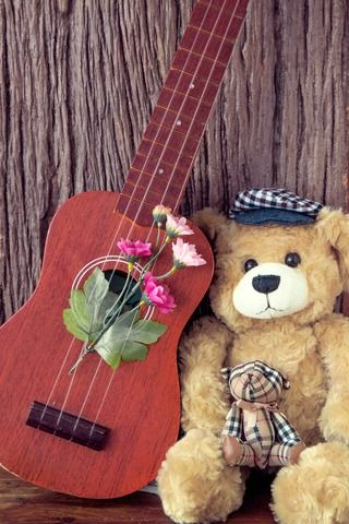 Thank You My Teddy Bear For This Awesome Photo I LOVE YOU http://shockts.com/martin-ukulele-for-sale/ #teddybear
