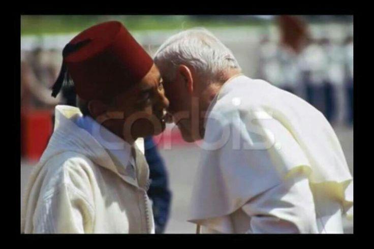 Feu SM le roi Hassan 2...