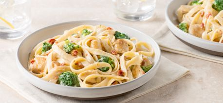 Cook with Campbells. Chicken and Broccoli Alfredo