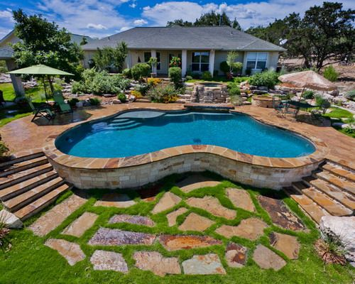 Above Ground Pool Landscaping   An Above Ground Swimming Pool Is A Large  Structure For Any Yard.The Placement Of The Pool Requires Careful Planning  For Land
