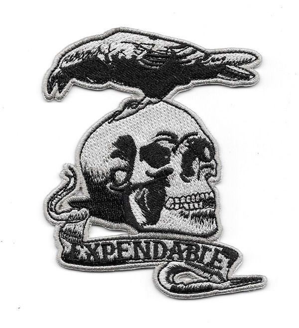 The Expendables Team Movie Logo Iron Sew on Embroidered Patch
