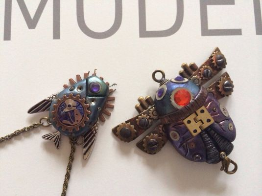 17 best images about polymer clay steampunk on pinterest - Steampunk bett ...