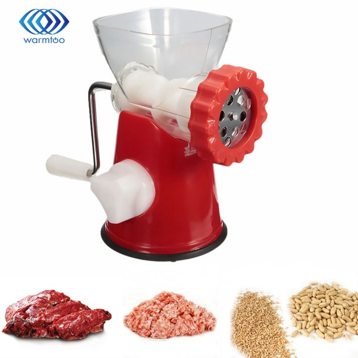 Multifunktions Manuelle Fleisch Bean Grinder Abnehmbare Fleischwolf Edelstahl Klinge Handkurbel Wurst Stuffer Pasta Kochen Maschine