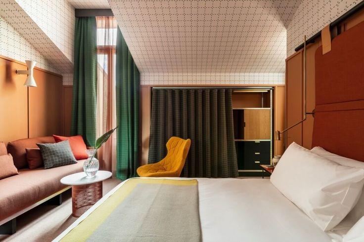 Hotel in Milan // Room Mate Giulia by Patricia Urquiola