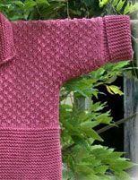 Modèle gratuit de Gilet pour enfant au tricot