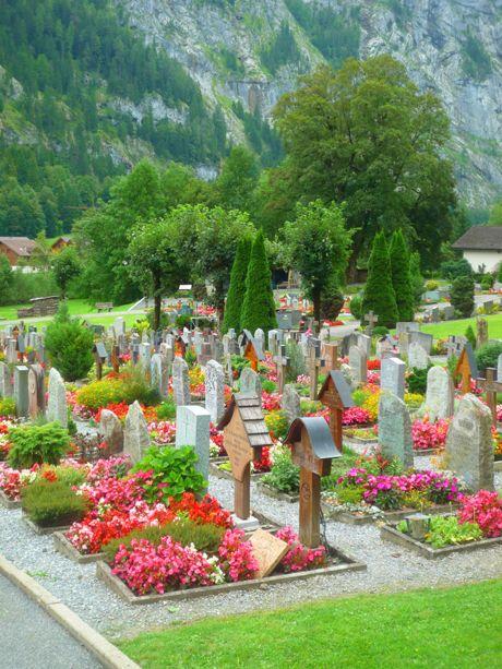 flower beds filling each burial plot in cemeteries #Swiss #lovely #flowersBurial Plot, Cemetery Flower, Beautiful Places, Cemetery Swiss, Beautiful Cemetery, Switzerland Wher, Flower Beds, Cemetary Flower, Beds Filling
