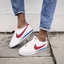 Nike Cortez Weiß Rot