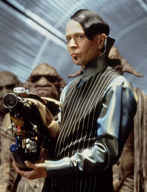 GAULTIER (Luc Besson's The Fifth Element, 1997)