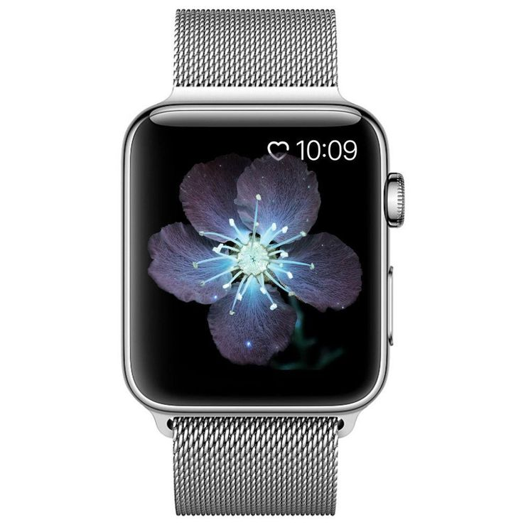 Apple Watch Band Magnetic Strap Stainless Steel NonSlip Series 1 2 3 Silver 42mm #AppleWatchBand