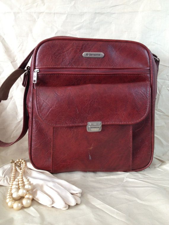 Carry on Luggage Vintage Samsonite Carry on Bag by TheCookieClutch