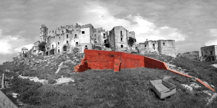 Per(e)sistere, Paesaggi in Movimento, Marcella Tisi, Craco (MT), 2006