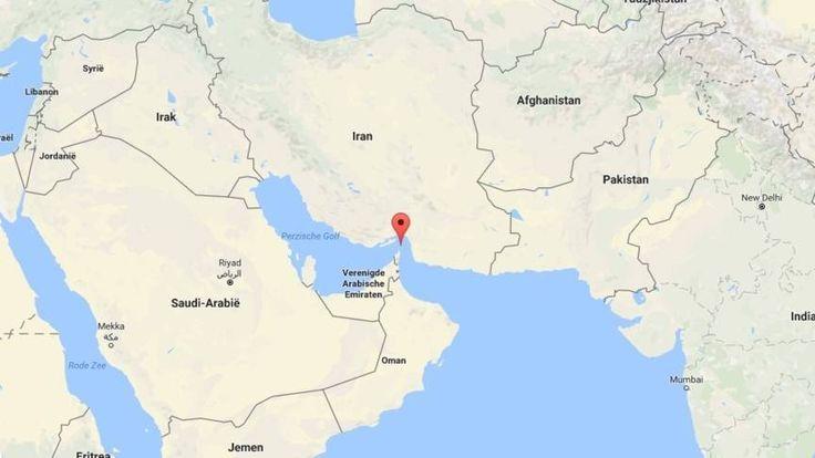 Amerikaanse marine waarschuwt Iraniërs in straat van Hormuz   NOS