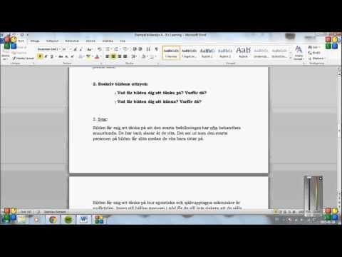 Exempel 3:Bildanalys med betyg A