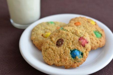 Cookies aux M&M's - La boite à cookies