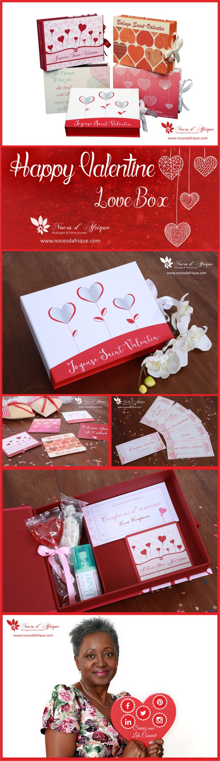 Valentine gifts: A Love Box Noces d'Afrique. http://nocesdafrique.com/products