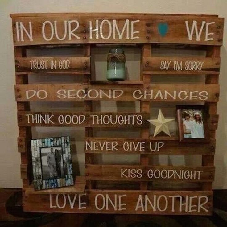 Best 25 wooden pallet projects ideas on pinterest for Wood art craft ideas