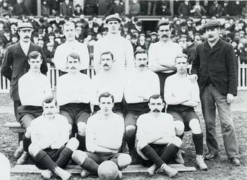 Tottenham Hotspur, FA Cup winners, 1901