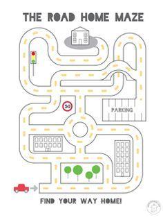 Free Printable Mazes for Kids   Mr Printables
