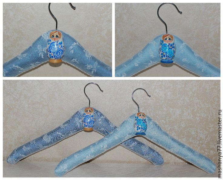Купить Вешалки свадебные кружевные, от Машани. - вешалка, для одежды, для девочек, для женщин, для подарка, плечики, креатив