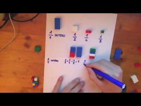 Le Frazioni con i Lego ( Prima Parte) - YouTube
