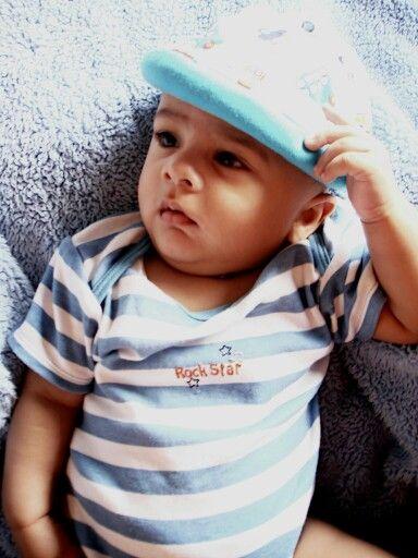 My son.....smart boy...love u lots