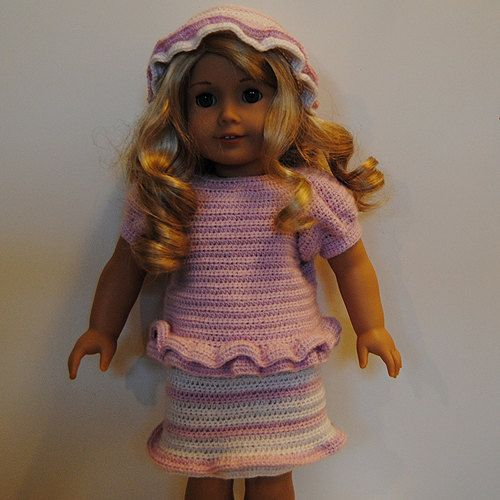 Instant Download - PDF Crochet Pattern - American Girl ...
