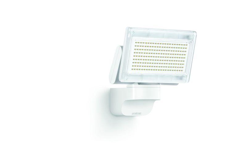 Steinel LED-Strahler XLED Home 1 Slave weiß, LED-Scheinwerfer mit 12 Watt und 920 lm, 180° horizontal und 120° vertikal schwenkbare Lichtpanel, Ideal für Zufahrten, Innenhöfe und Gärten, 659813: Amazon.de: Beleuchtung