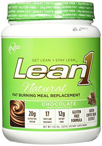 Nutrition 53 Lean 1 15-Serving Dietary Supplement, Natural Chocolate, 15 Pound //Price: $37.25 & FREE Shipping //     #hashtag1