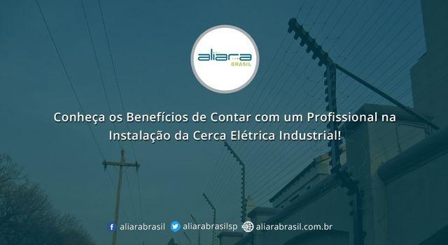 Conheça os Benefícios de Contar com um Profissional na Instalação da Cerca Elétrica Industrial!  #CercaElétricaIndustrial #CercaElétrica #Concertina #KitCercaElétrica #CercadeProteção #Aliarabrasil
