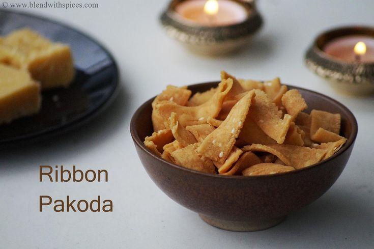 Blend with Spices: Ribbon Pakoda Recipe - Ola Pakoda Recipe - How to ...