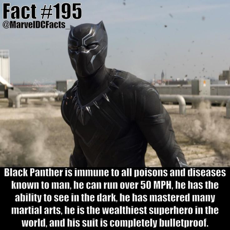 Black Panther is one of the coolest underrated characters in all of Marvel. King T'Challa is a beast.