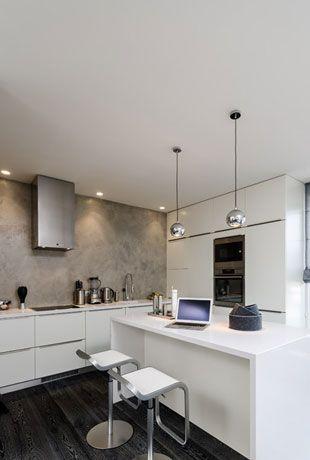 Interiér developerského bytu / Mostecká