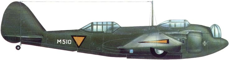 Early delivery Glenn Martin EH-139 in Dutch wartime camouflage and markings