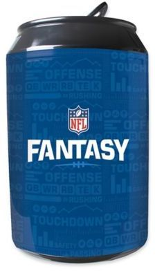 NFL Fantasy Football 11-Liter Portable Party Can Fridge