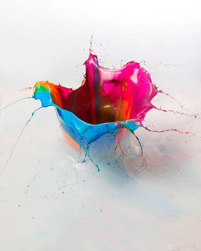 Фабиан Офнер превращает брызги краски в орхидеи (фото 4)