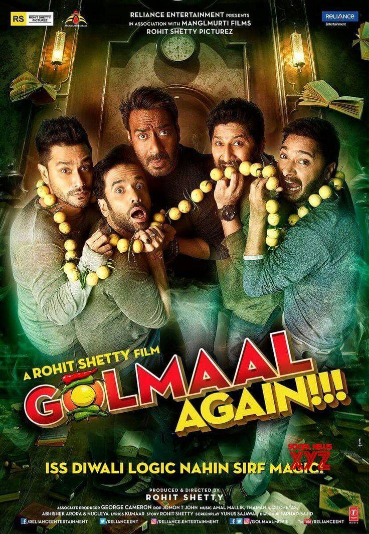Ajay Devgn, Rohit Shetty's Golmaal Posters - Social News XYZ