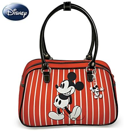 Disney Handbag With FREE Mickey And Minnie Charms