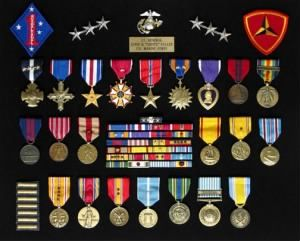 "Chesty Puller Ribbons | Medals Major General Lewis B ""Chesty"" Puller and General Holland M ..."