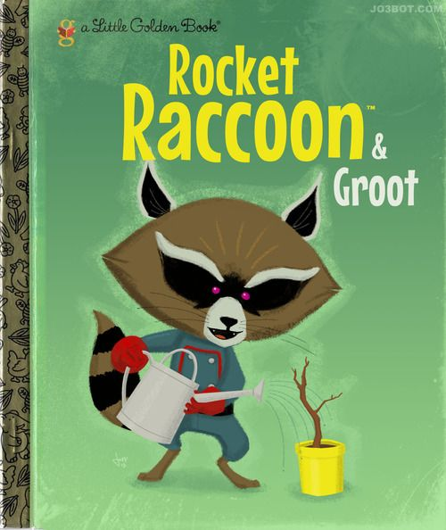 Rocket Raccoon  Groot #RocketRaccoon #MarvelComics #GuardiansOfTheGalaxy