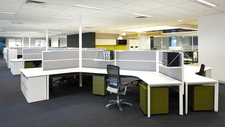 Zenith Interiors: Screen S70, office, corporate, workstation